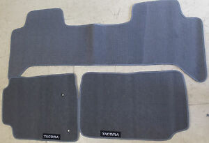 Toyota Tacoma Single Cab Trd Sport Prerunner 1999 2019 Set Floor Mats