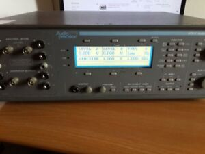 Audio Analyzer Audio Precision Ats 1 In Good Condition Used