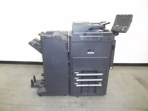 Kyocera Mita Taskalfa 6501i Copier Printer Scanner Only 76k Meter 65 Ppm