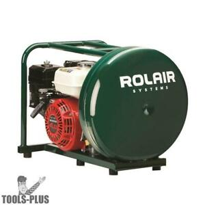 Rolair Gd4000pv5h 4hp 4 1 2 Gal Gas powered Hand Carry Air Compressor New