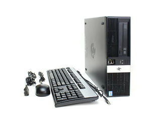 Hp Rp5 Retail System Model 5810 Intel Core I5 4570s 2 90ghz 4gb Ram 128gb