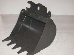 24 Quick Attach Excavator Bucket Fits Kubota Kx057 U55 Guaranteed Fit