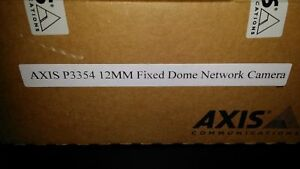 Axis Communication Inc 0467 001 P3354 12mm Indoor Fixed Dome