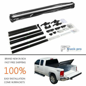 Assemble Tri fold Lock Soft Tonneau Cover For 2009 2018 Dodge Ram 1500 6 5ft Bed