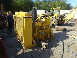 Caterpillar 3406b Diesel Engine Complete Power Unit Rebuilt Reman 3406 Cat