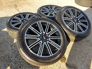 19 Lincoln Continental Oem New 2017 2018 Wheels Rims Michelin Tires 5x108 10088
