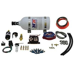 Motorcycle Nitrous Nx Moto 4 Nitrous System Kit With 1 Lb Nitrous Bottle