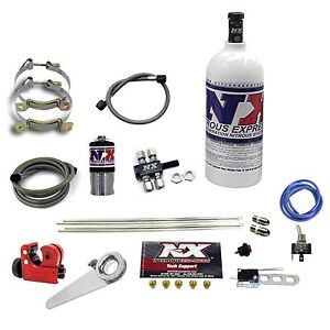 Motorcycle Nitrous Spray Bar Nx Dry System With 1 Lb Bottle