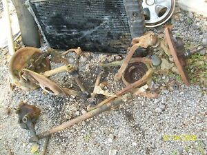 1957 Buick Complete Front Suspension Brakes Spindles