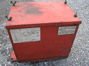 Allis chalmers Tractor Battery Box