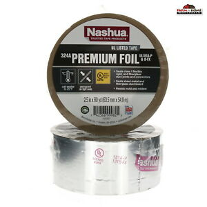 2 Nashua Aluminum Foil Tape 2 5 X 60 Yards New