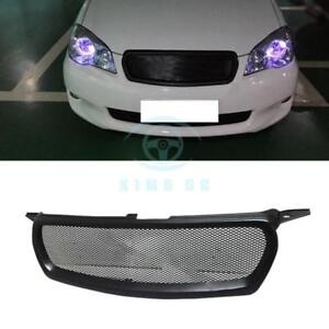 Matte Black Resin Front Grille Modified Replace For Toyota Corolla 2010 2012