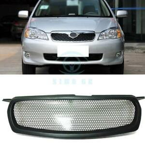 Black Resin Front Grille Honeycomb Grid Replace For Toyota Corolla 2010 2012