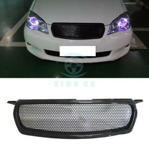 Carbon Fiber Front Grille Honeycomb Grid Replace For Toyota Corolla 2010 2012