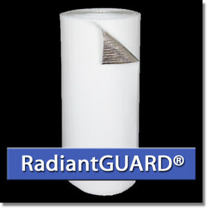 Radiantguard White Single Bubble Concrete Reflective Insulation 500 Sf