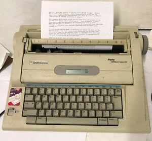 Smith corona Na3hh Display Dictionary Electronic Typewriter Word Processor