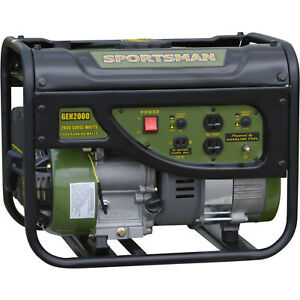 Portable Power Generator 2000w Gasoline Emergency Storm Power Free Shipping