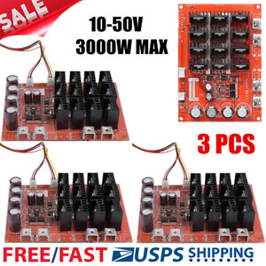 3pc Dc Motor Speed Control Pwm Hho Rc Controller 10 50v 3000w Max 60a High Qc Ek