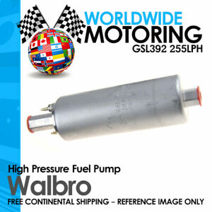 Genuine Walbro Gsl392 255lph Inline External High Pressure Fuel Pump