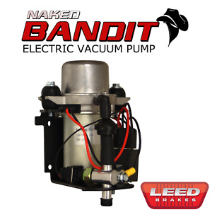 Electric Vacuum Pump For Power Brakes 12v Prewired Naked Bandit