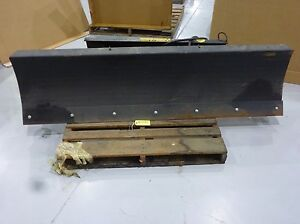 Farmers Factory Co 7 Wide Snow Plow Blade For A Skid Steer Model Snb 384