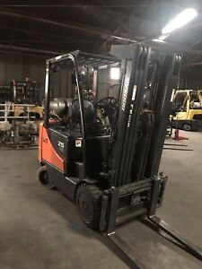 Great Condition Used 2013 Daewwoo Forklift fgaol 1790 00609 5000lb Copacity