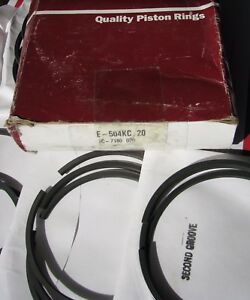 New Sealed Power Piston Ring Set For Ford Tractor 401 6 6l 20 Over 020 E 504kc