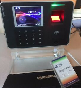 Finger Pass Kj 3300 Fingerprint Access Control Time Attendance