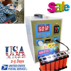 110v 2 In 1 Spot Welder Soldering Iron Staion 800a Battery Welding Machine 60a