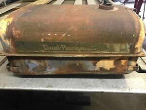 Original Case 530 Tractor Fuel Tank Top Tank