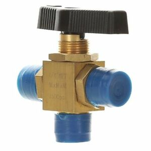 Brass Mini Ball Valve 3 way 1 4 1wmw1