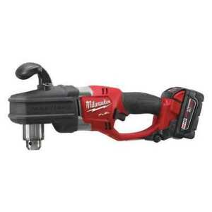 Milwaukee 2707 22hd Cordless Right Angle Drill Kit 9 8 Lb G6639431