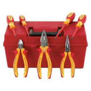 Insulated Tool Set 7 Pieces 1000vac Max Wiha Tools 32899