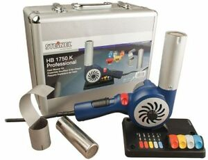 Heat Gun Kit corded 23 0 Cfm 200 To 1200 Degrees F 120vac 1752w Steinel Hb1750k