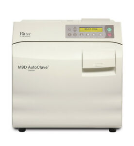 Midmark ritter M9d Ultraclave Autoclave Sterilizer 9 Chamber