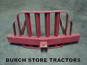 Front Bumper Brush Guard For Farm Tractors Ford John Deere International