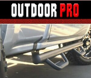 Fit 08 18 Chevy Silverado Gmc Sierra Extend Cab H Style Nerf Bars Running Boards