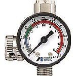 Anest Iwata Hand Pressure Gauge Ajr 02s vg Air Regulator For Spray Guns Japan
