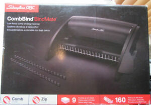 swingline Gbc Bindmate Combbind Binding System 7706170 New With Free Shipping