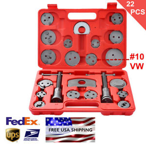 22pcs Heavy Duty Disc Brake Caliper Tool Set And Wind Back Kit For Brake Pad