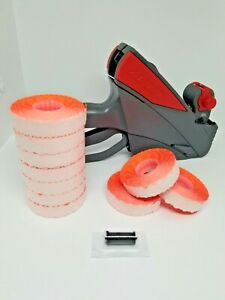 Meto 5 16 Pricegun With Free Box Fluro Red Labels And Free Ink Roller