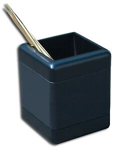 Brand New Great Gift Idea Dacasso Blackwood Genuine Leather Pencil Cup