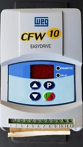Weg Cfw10 Easydrive Frequency Inverter Variable Speed Drive