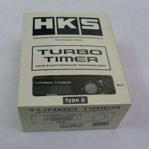 New Hks Universal Turbo Timer Black Type 0 Zero Red Lcd