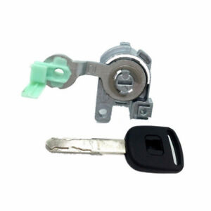 Door Lock Cylinder Front Set Kit 1pc Key For Honda S2000 Accord 2003 2007 4 Door