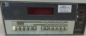 Hp 3465 Multimeter 1 Tested And Working