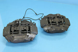 2007 W221 Mercedes S550 1 Front Left Right Brake Calipers Pair Oem