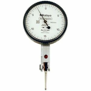 Mitutoyo 513 402 030 Travel quick Set Horizontal Dial Test Indicator