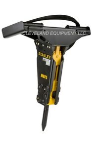 Stanley Mbf5 Hydraulic Concrete Breaker Hammer Attachment Caterpillar Skid Steer