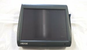 Micros Ws5a Terminal With New Touch Glass And Stand Part Number 400814 101